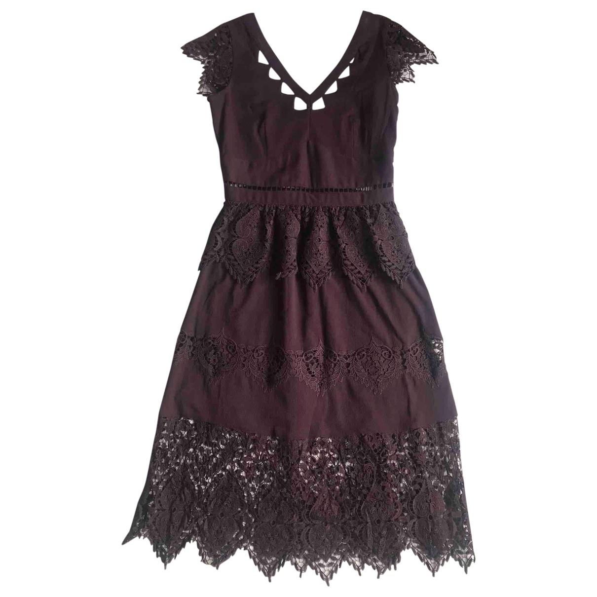 Vestido midi Miss Selfridge