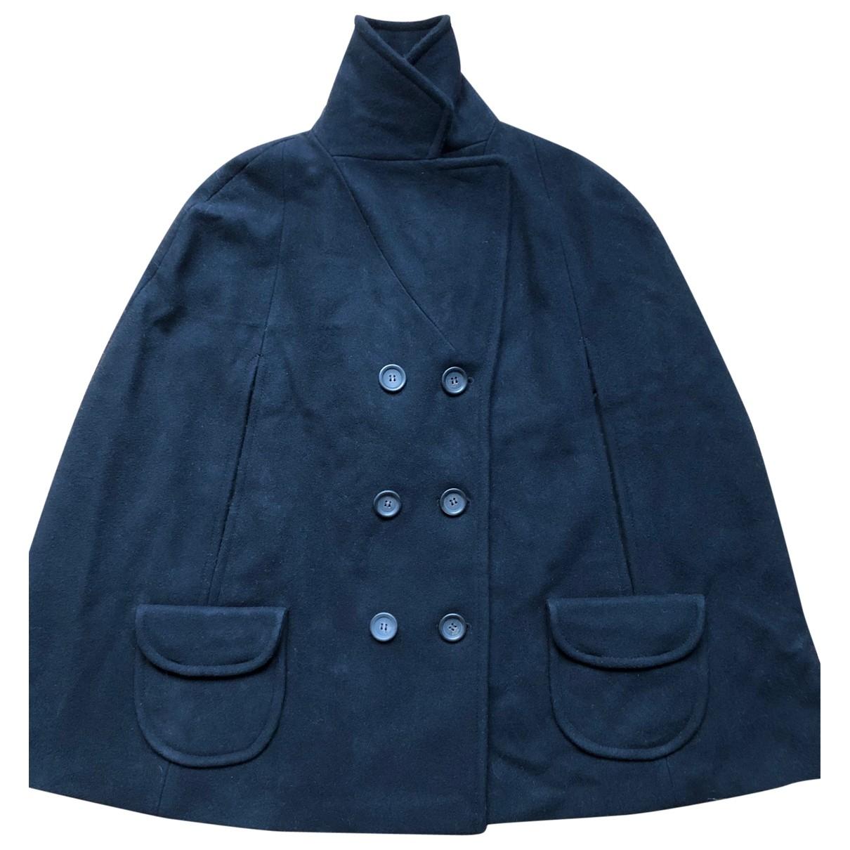 Comptoir Des Cotonniers - Veste   pour femme en laine - marine