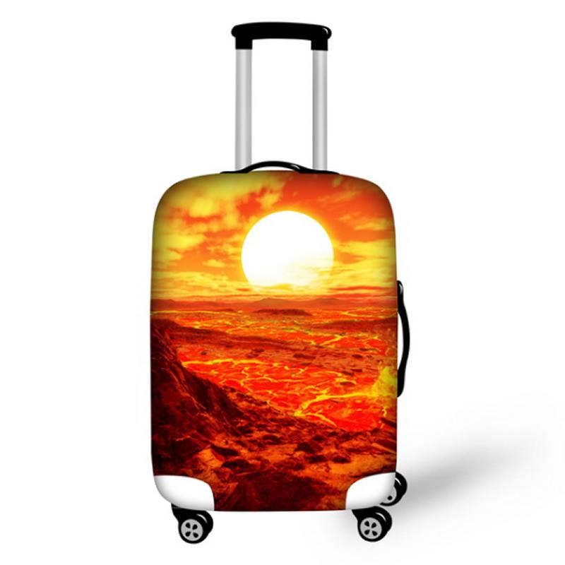 Volcano Sun Waterproof Suitcase Protector for 19 20 21