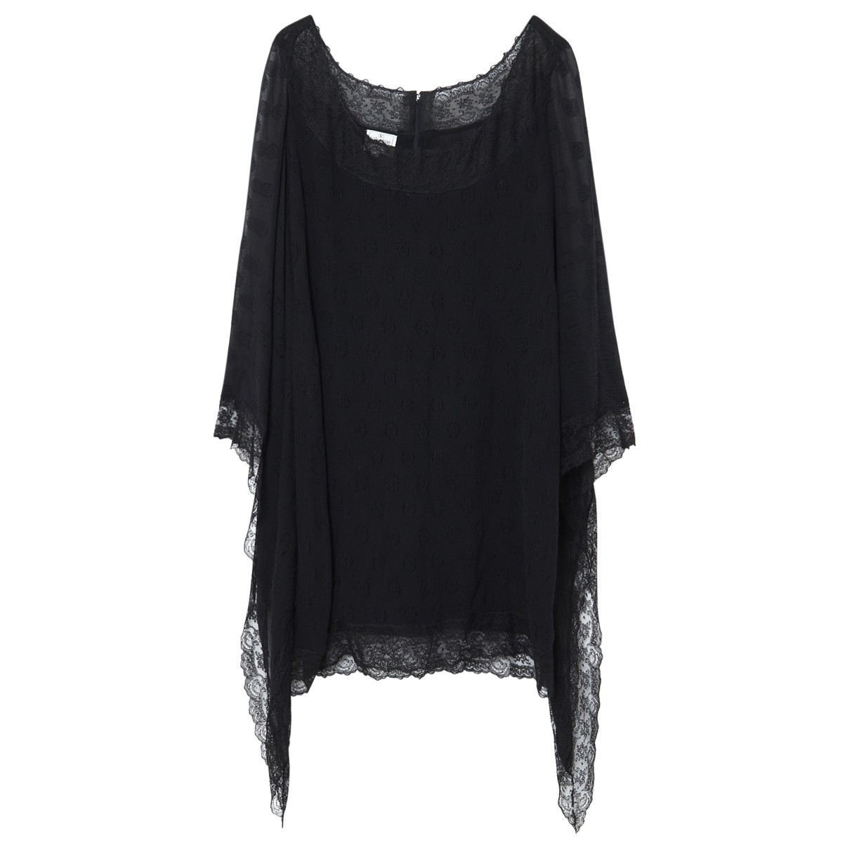 Valentino Garavani \N Black Silk dress for Women 40 FR