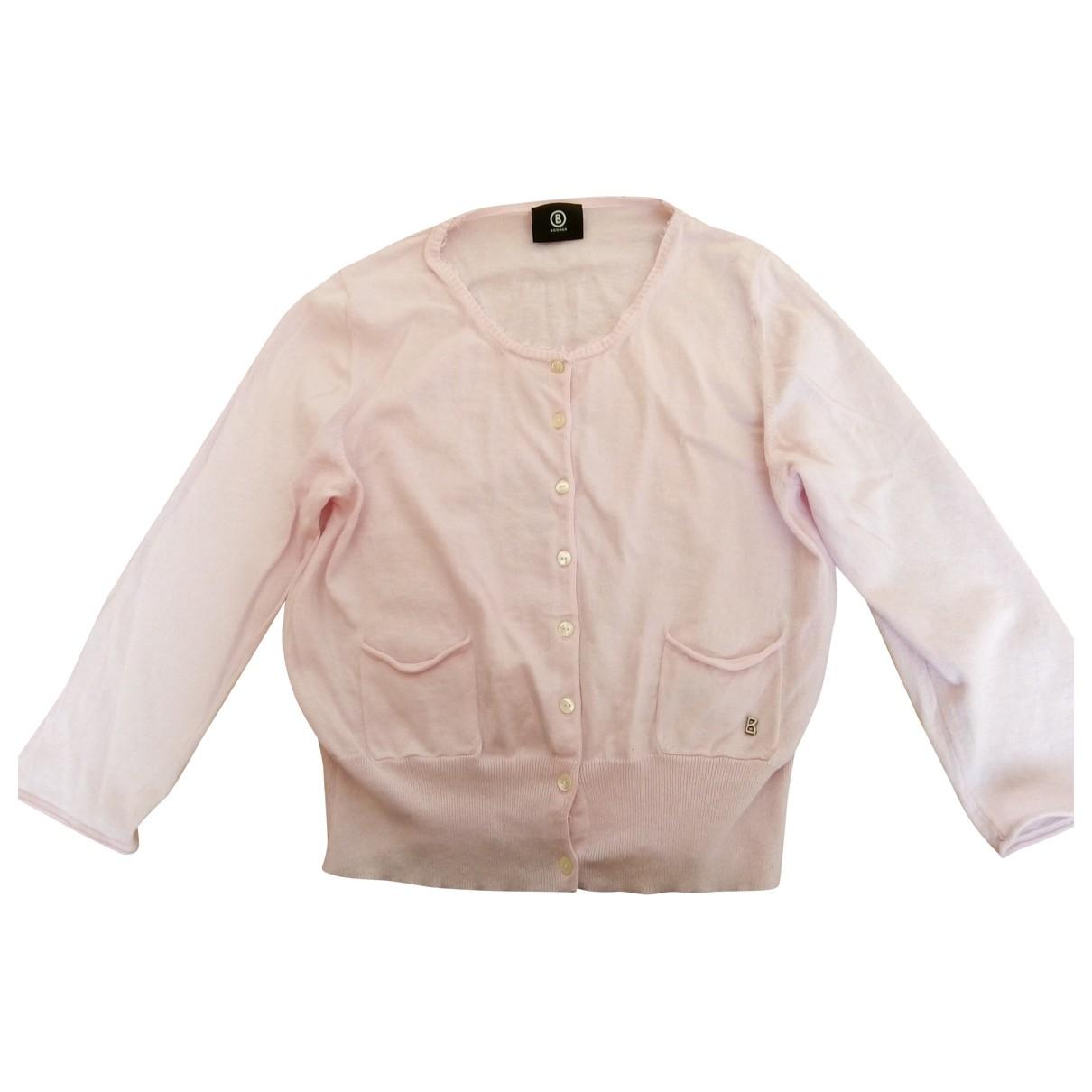 Bogner \N Pullover in  Rosa Baumwolle