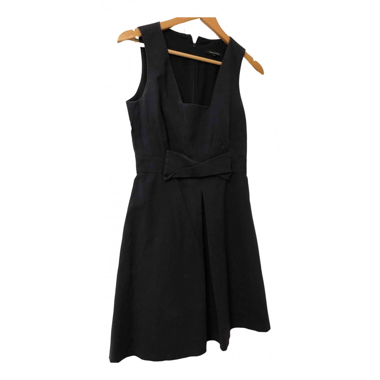 Tara Jarmon \N Kleid in  Marine Baumwolle - Elasthan