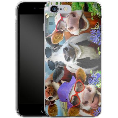 Apple iPhone 6 Plus Silikon Handyhuelle - Udderly Cool Selfie von Howard Robinson