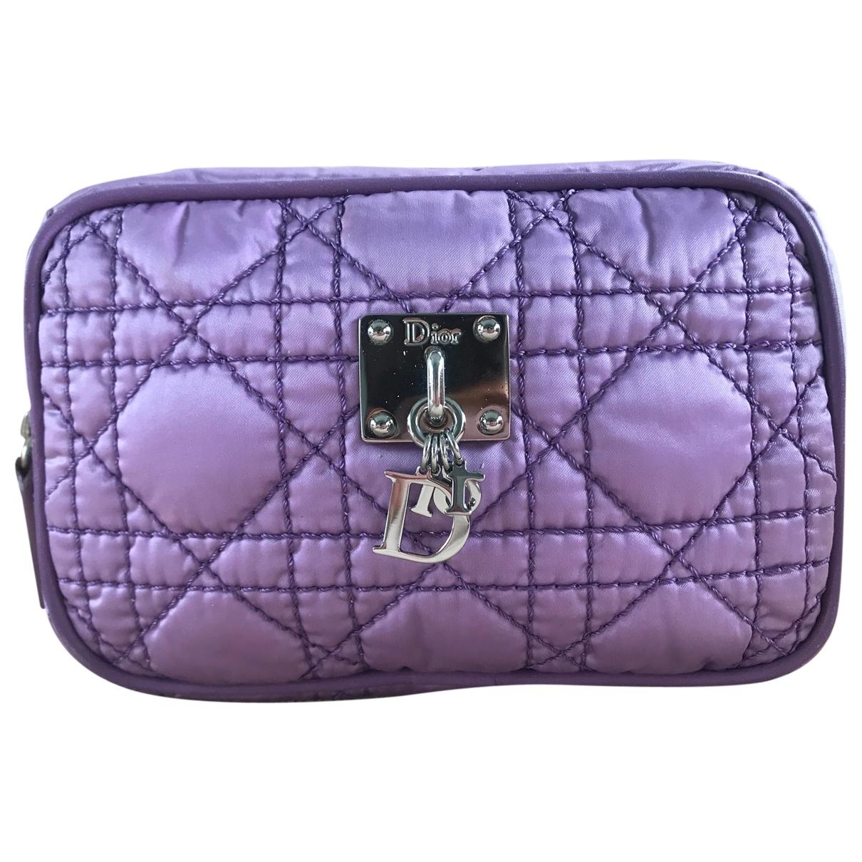 Christian Dior - Sac de voyage   pour femme en toile - violet