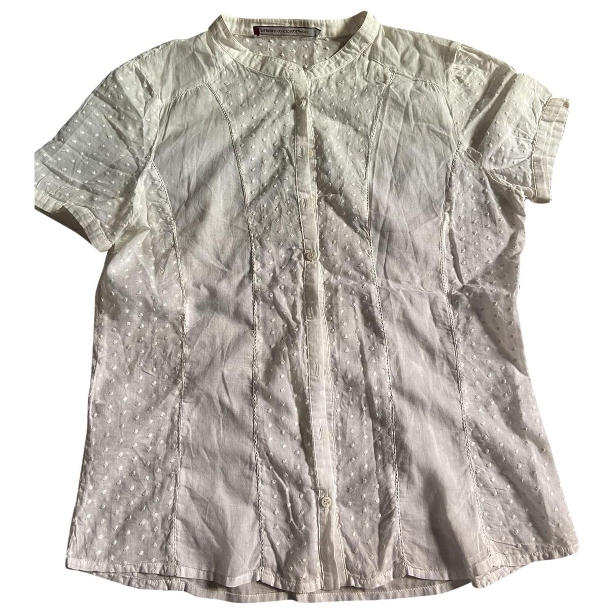 Comptoir Des Cotonniers - Top   pour femme en coton - blanc