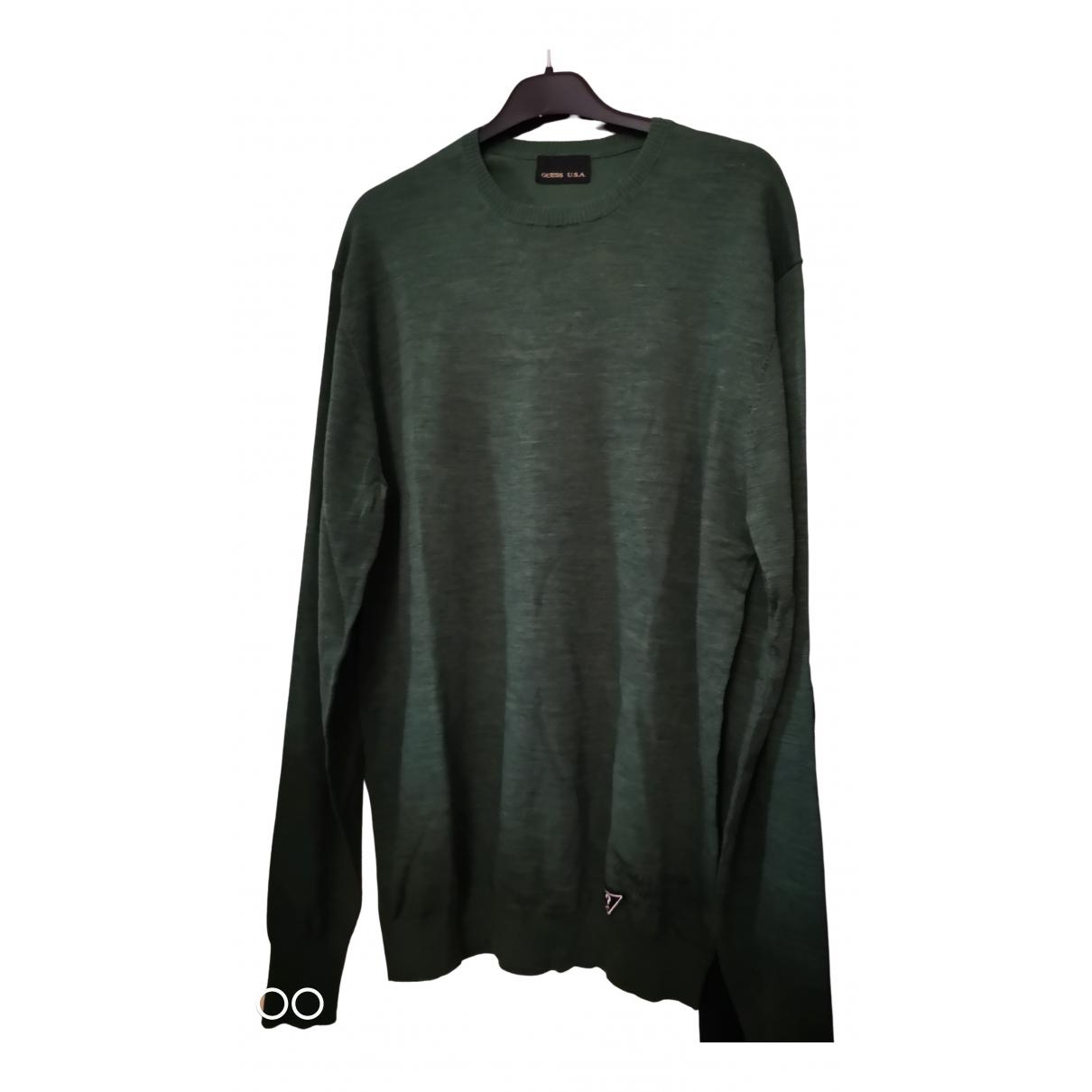Guess \N Pullover.Westen.Sweatshirts  in  Gruen Wolle