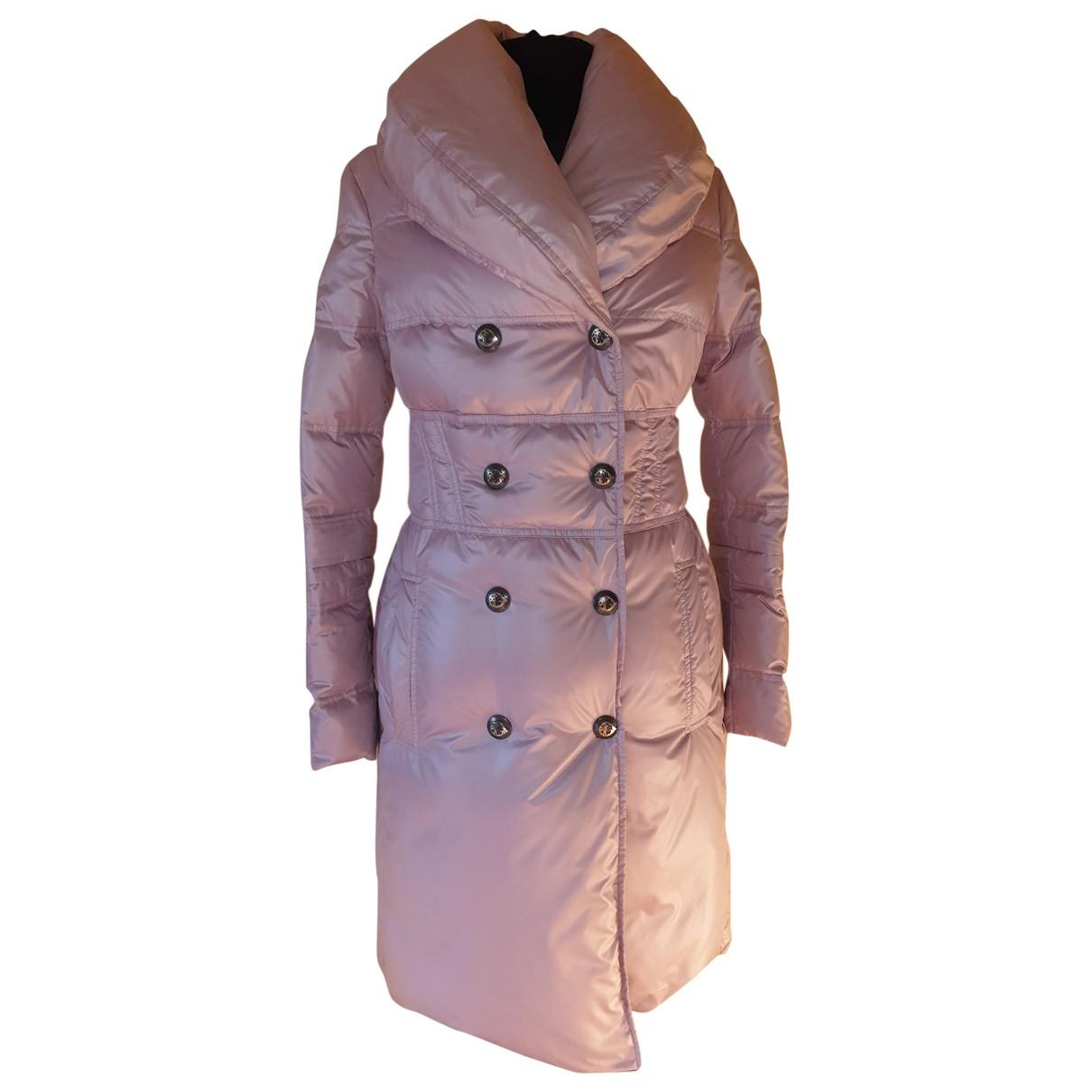 Gianni Versace \N Pink coat for Women 38 IT