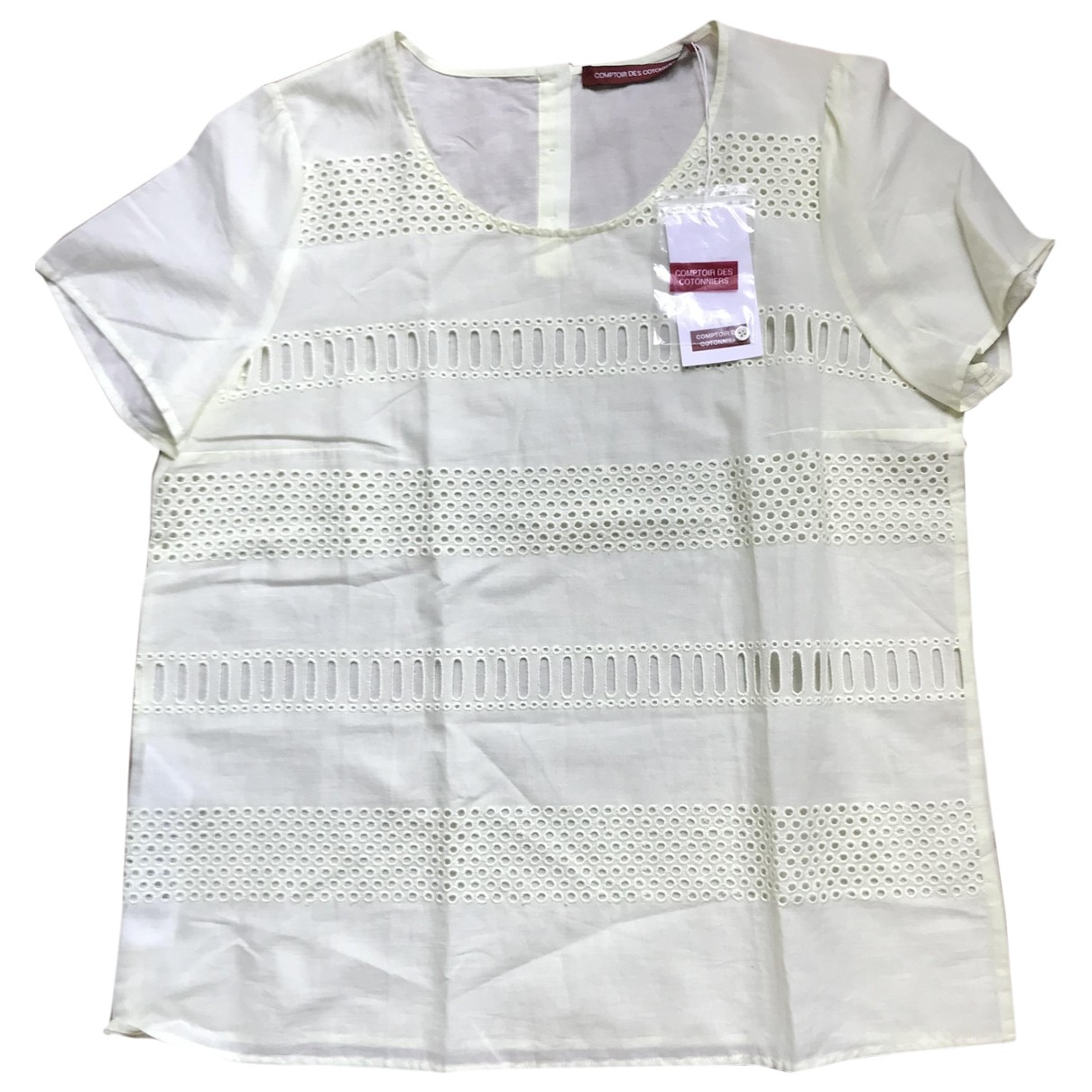 Comptoir Des Cotonniers \N Cotton  top for Women 42 FR