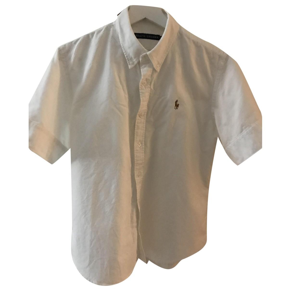 Ralph Lauren \N White Cotton  top for Women 12 UK
