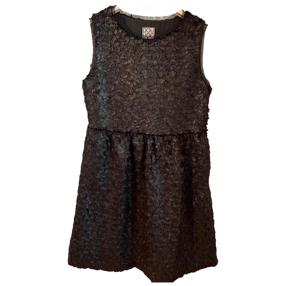 Douuod - Robe   pour femme - noir