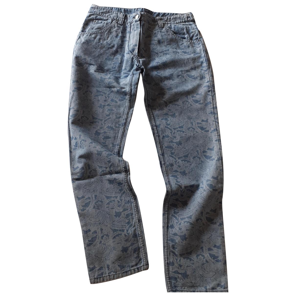Isabel Marant Etoile \N Blue Cotton Jeans for Women 40 FR