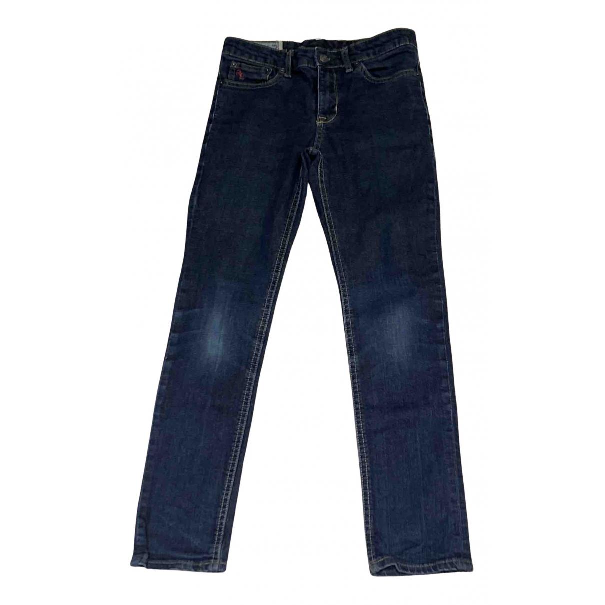 Polo Ralph Lauren - Pantalon   pour enfant en denim - bleu