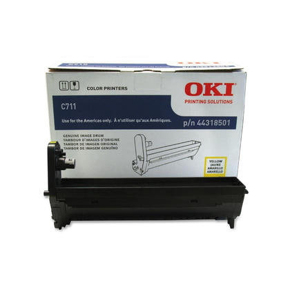 Okidata 44318501 Type C16 Original Yellow Drum for C711 Printer