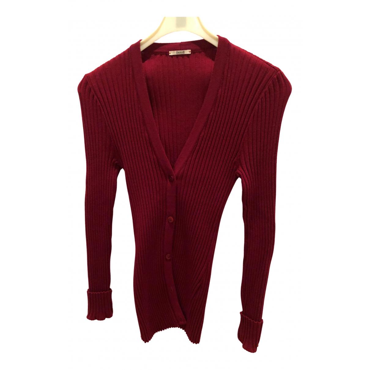 Wolford N Burgundy Wool jacket for Women S International