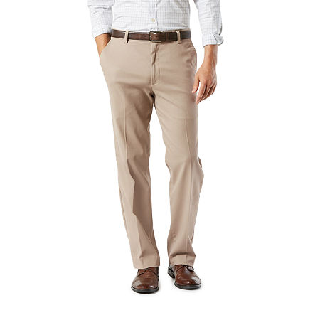 Dockers Men's Classic Fit Easy Khaki with Stretch Pants D3, 40 34, Brown