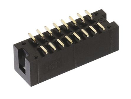 Wurth Elektronik , WR-BHD, 20 Way, 2 Row, Straight PCB Header