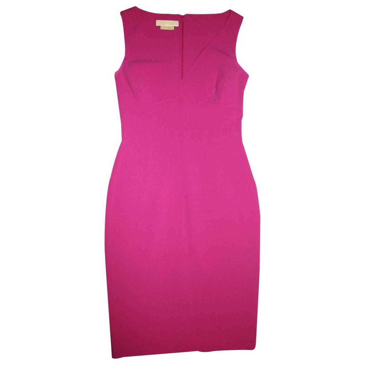 Michael Kors - Robe   pour femme en laine - rose