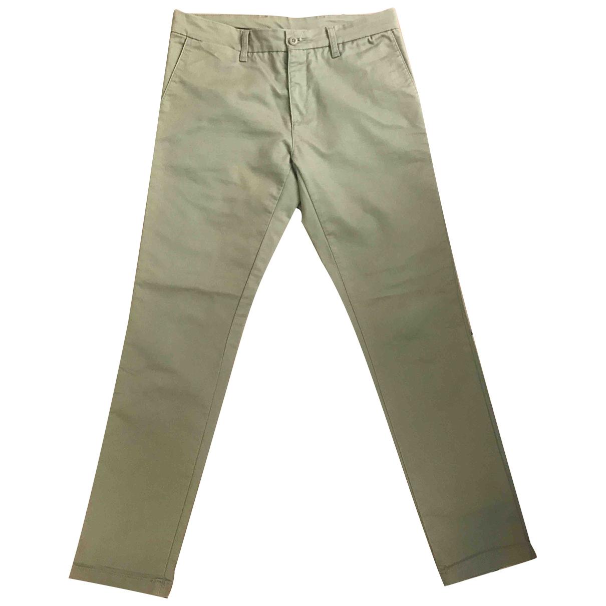 Pantalones en Algodon Beige Carhartt