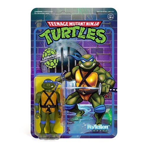 Teenage Mutant Ninja Turtles Leonardo 3  3/4-Inch ReAction Figure