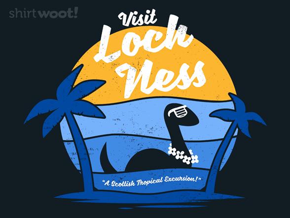 Visit Loch Ness T Shirt