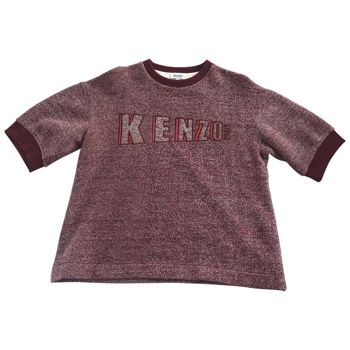 Kenzo - Top   pour femme en coton - rouge