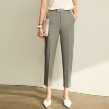 AMII High Waist Tailored Pants