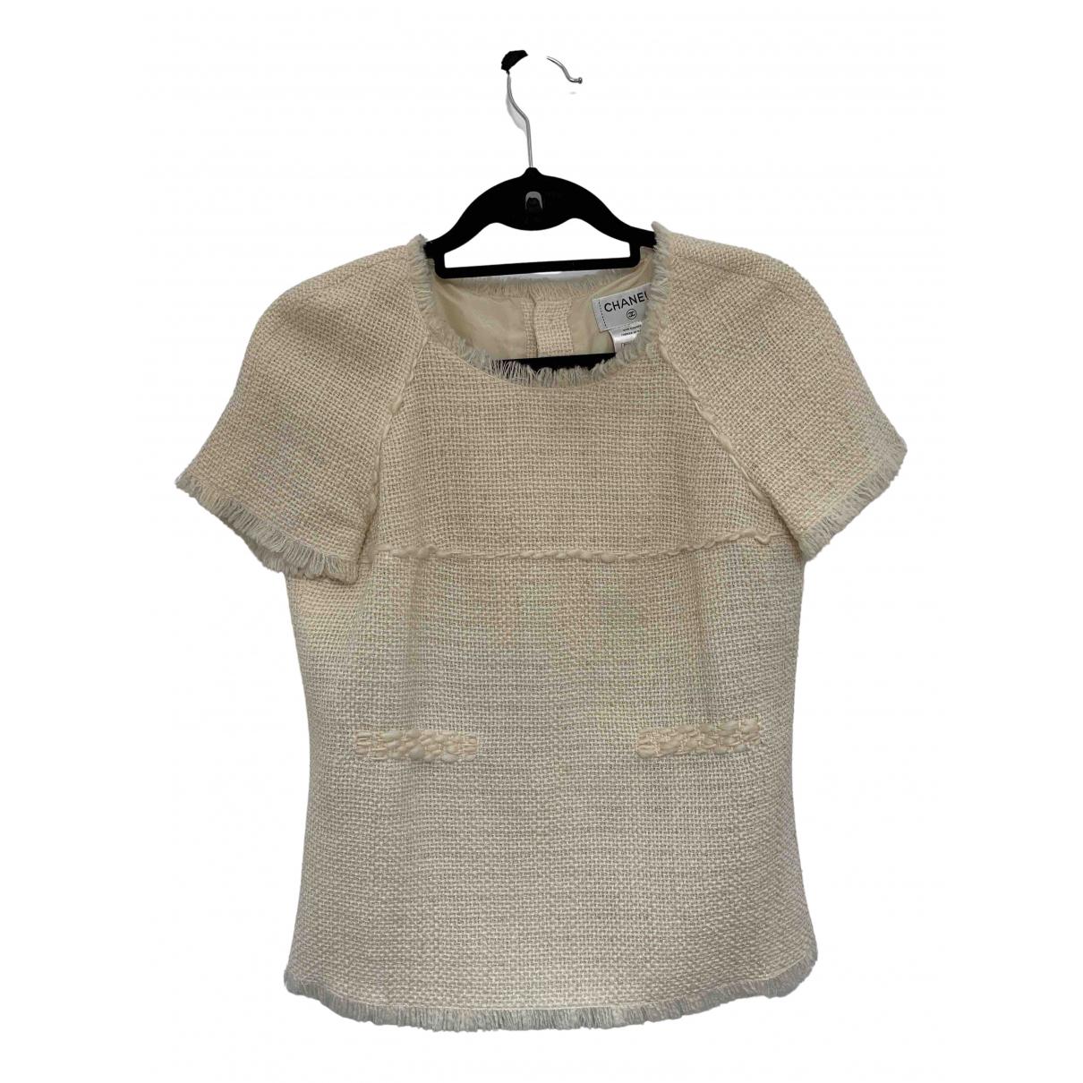 Chanel N Ecru Wool  top for Women 38 FR