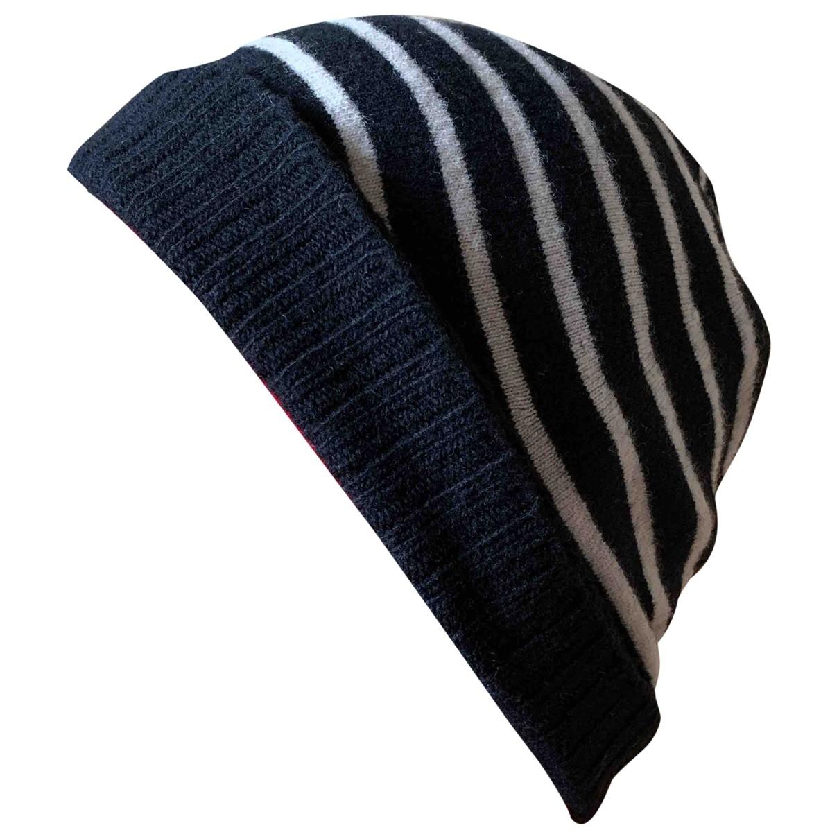 Ami - Chapeau & Bonnets   pour homme en laine - noir