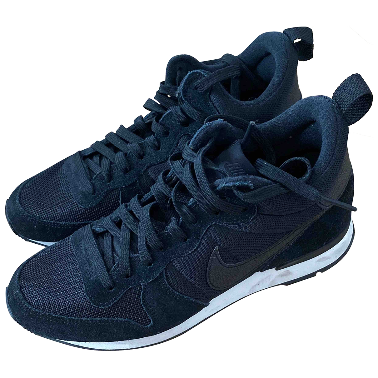 Nike - Baskets Internationalist pour femme en suede - noir