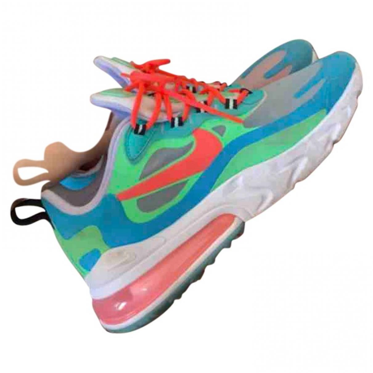 Nike Air Max 270  Multicolour Cloth Trainers for Women 39 EU