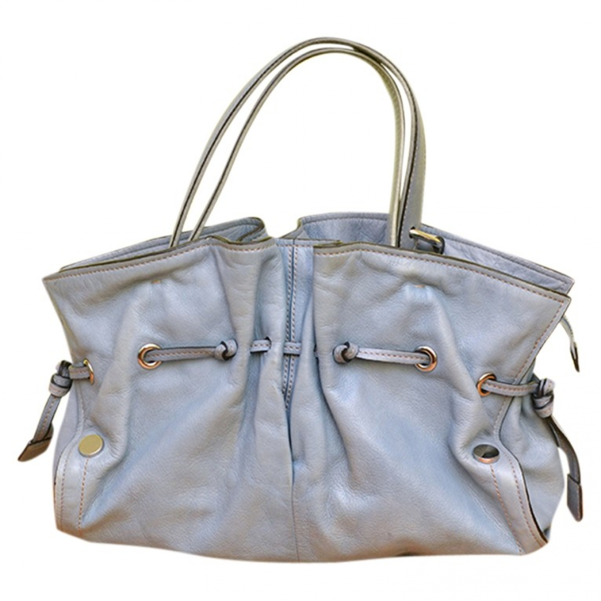 Coccinelle \N Blue Leather handbag for Women \N
