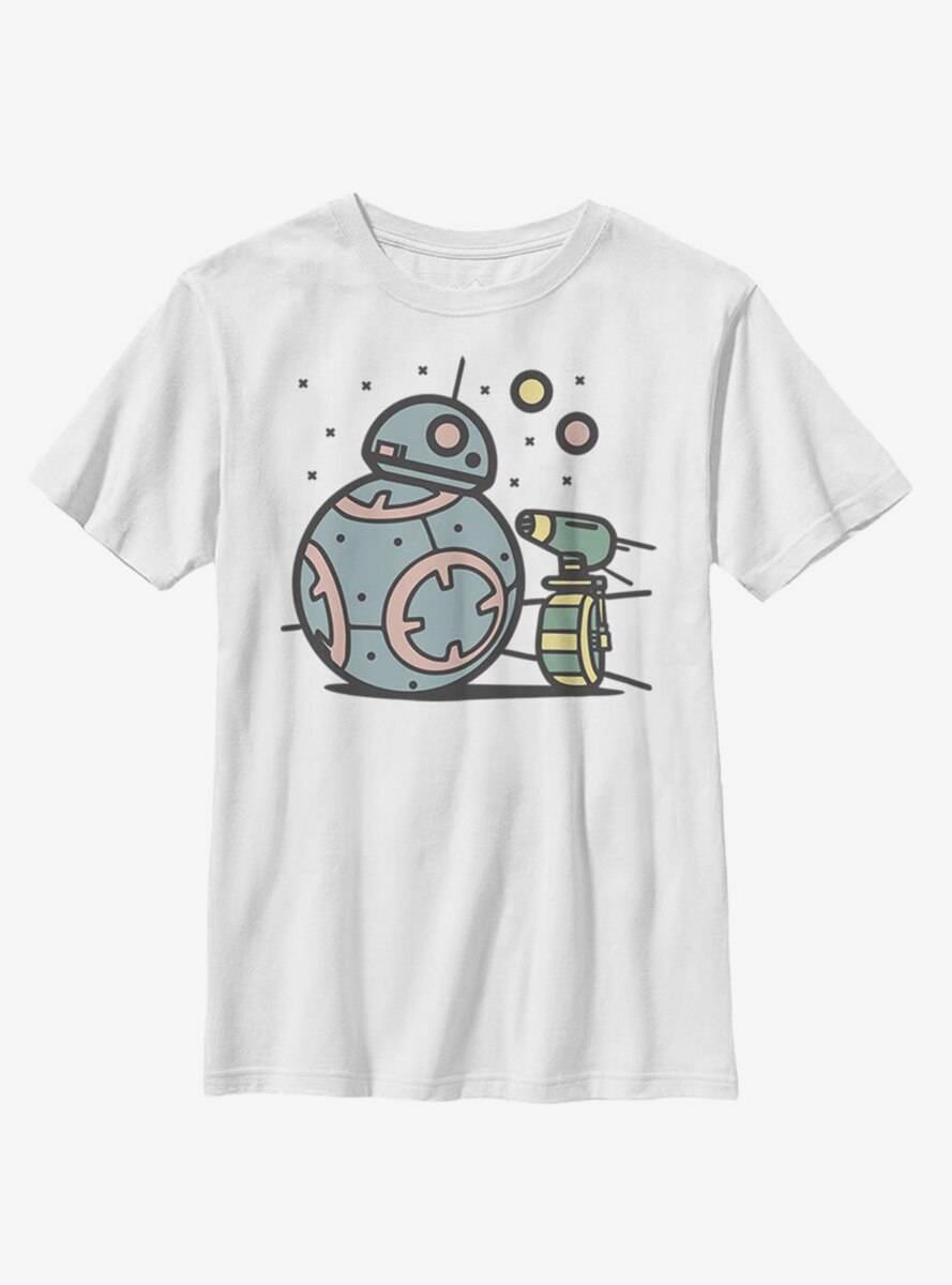 Star Wars Episode IX The Rise Of Skywalker Droid Team Youth T-Shirt