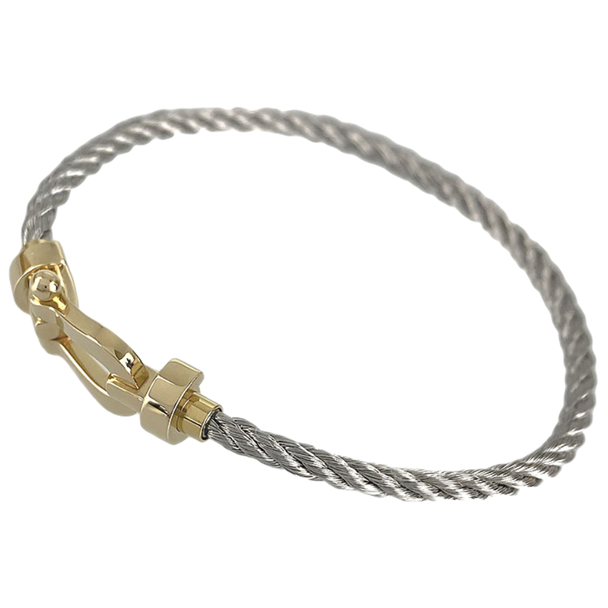 Fred \N Armband in  Gold Gelbgold