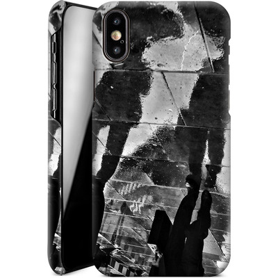 Apple iPhone X Smartphone Huelle - It Must Be Monday Morning von Ronya Galka
