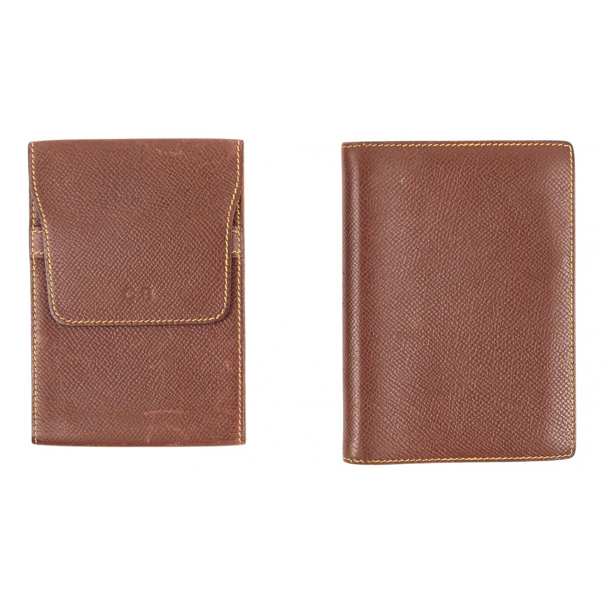 Hermès N Brown Leather Purses, wallet & cases for Women N