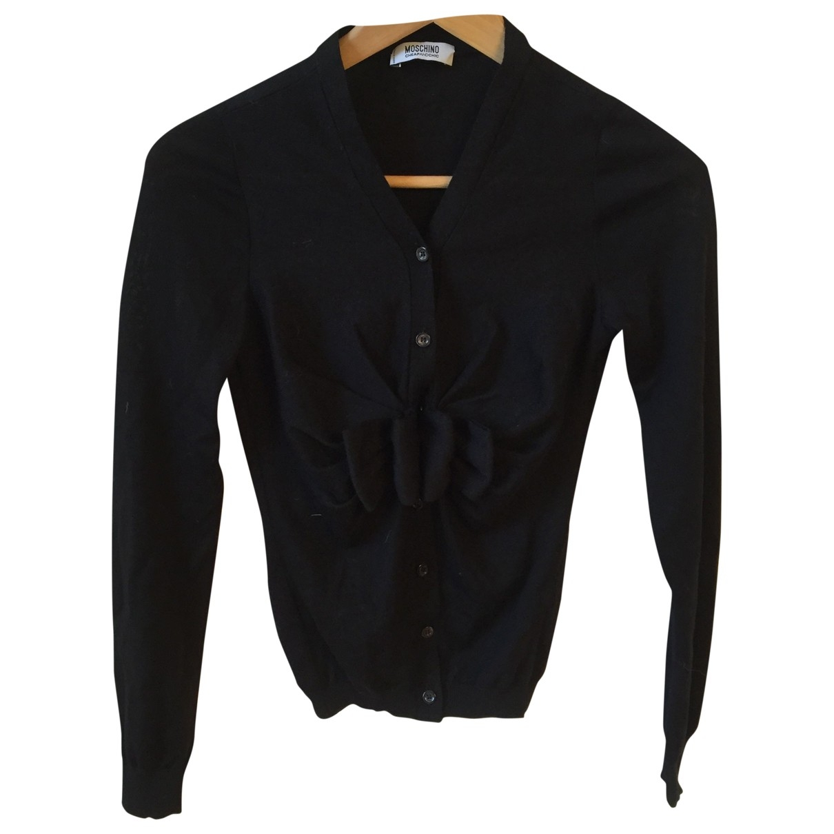 Moschino Cheap And Chic \N Black Wool Knitwear for Women 38 FR