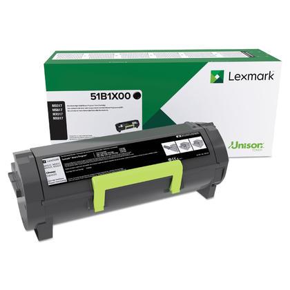 Lexmark 51B1X00 cartouche de toner originale noire extra haute capacite