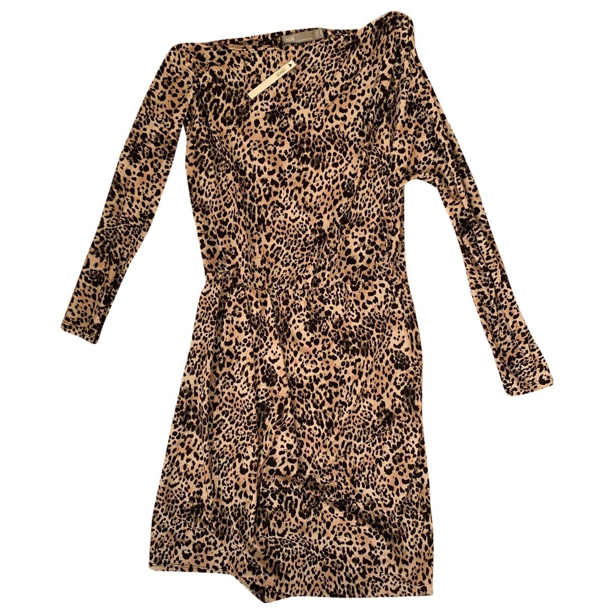 Asos - Robe   pour femme - camel