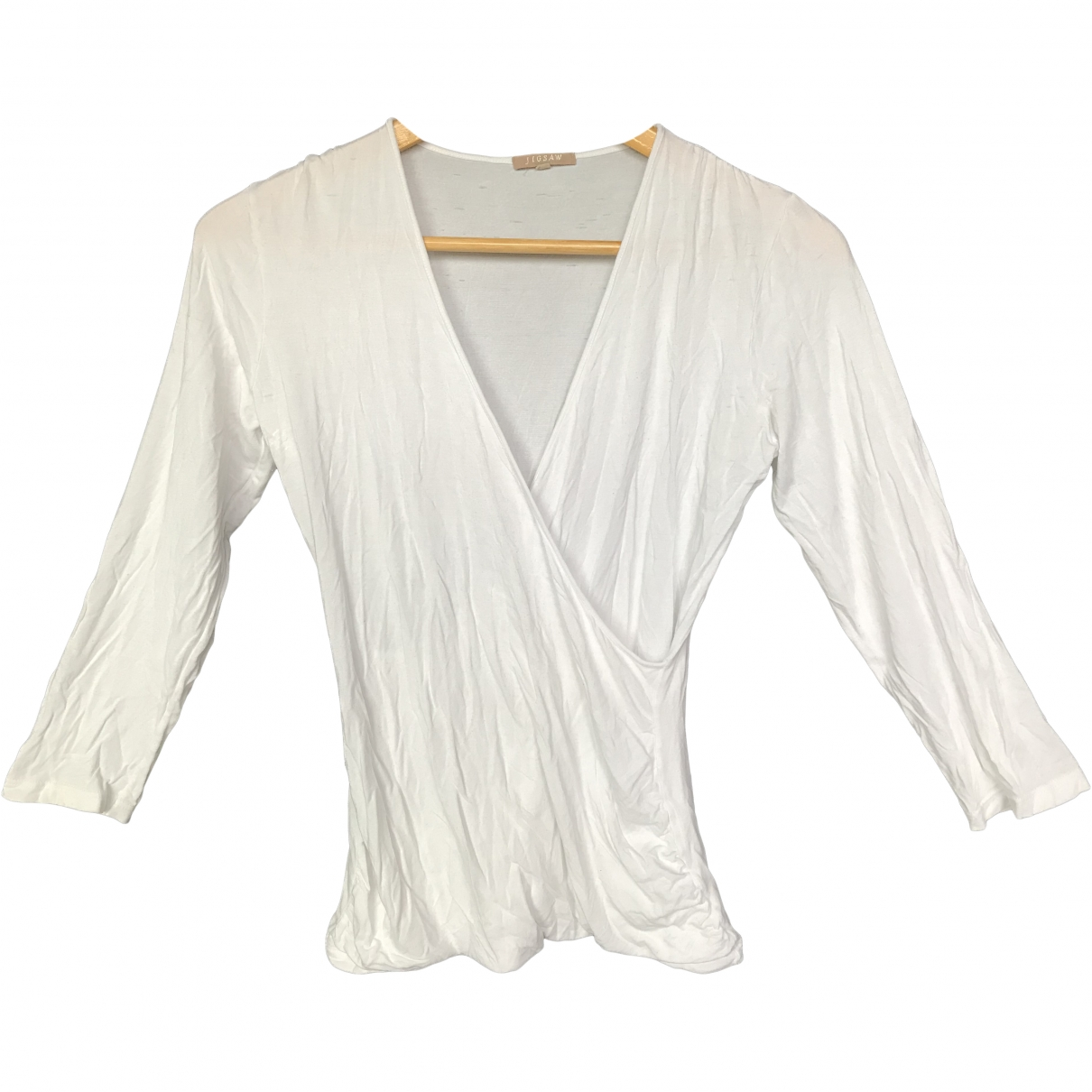 Jigsaw \N White Cotton  top for Women S International