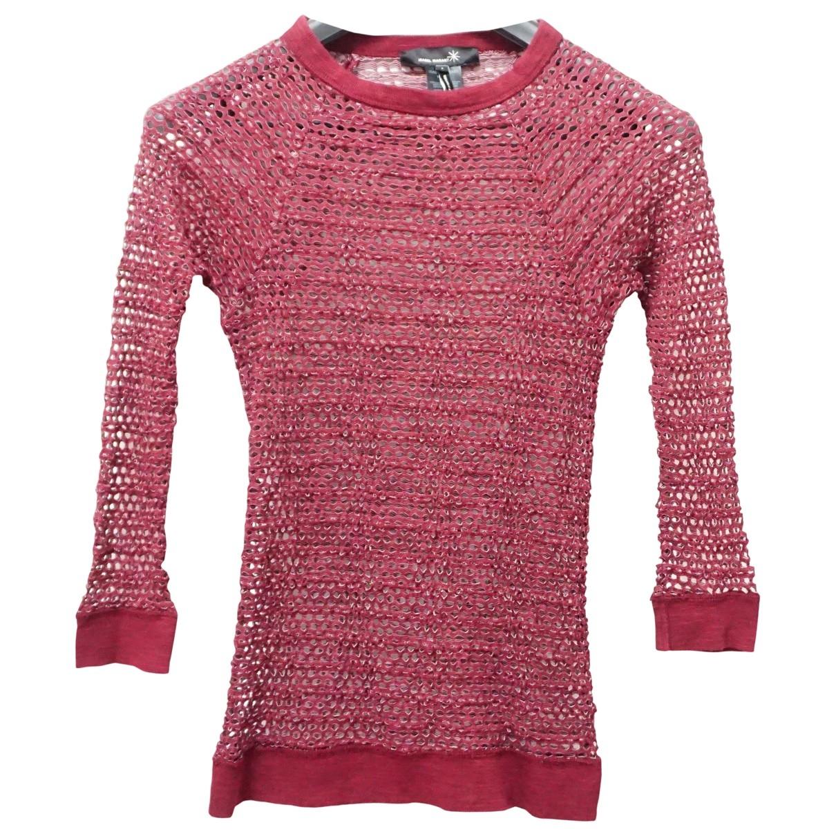 Isabel Marant - Pull   pour femme en coton - rouge