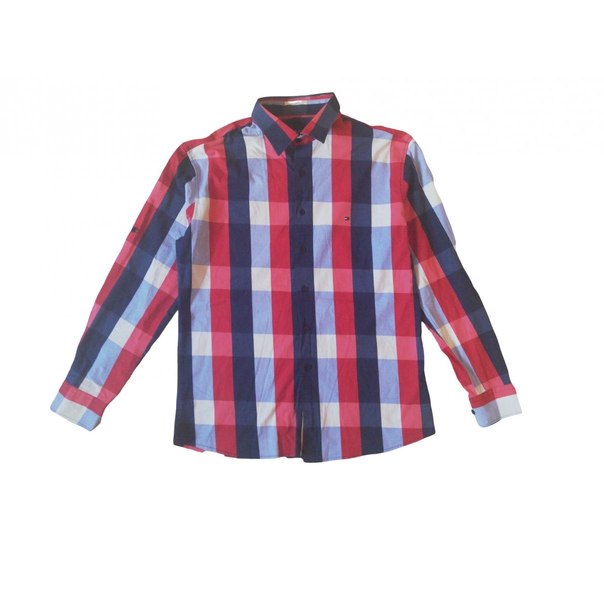 Tommy Hilfiger - Chemises   pour homme en coton - multicolore