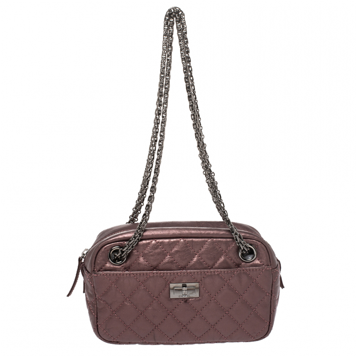 Chanel \N Metallic Leather handbag for Women \N