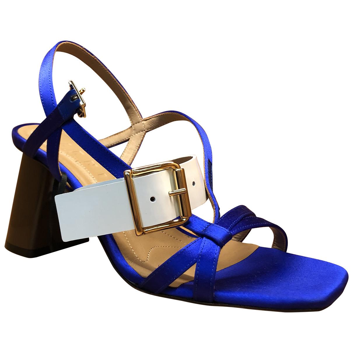 Marni \N Sandalen in  Blau Leder
