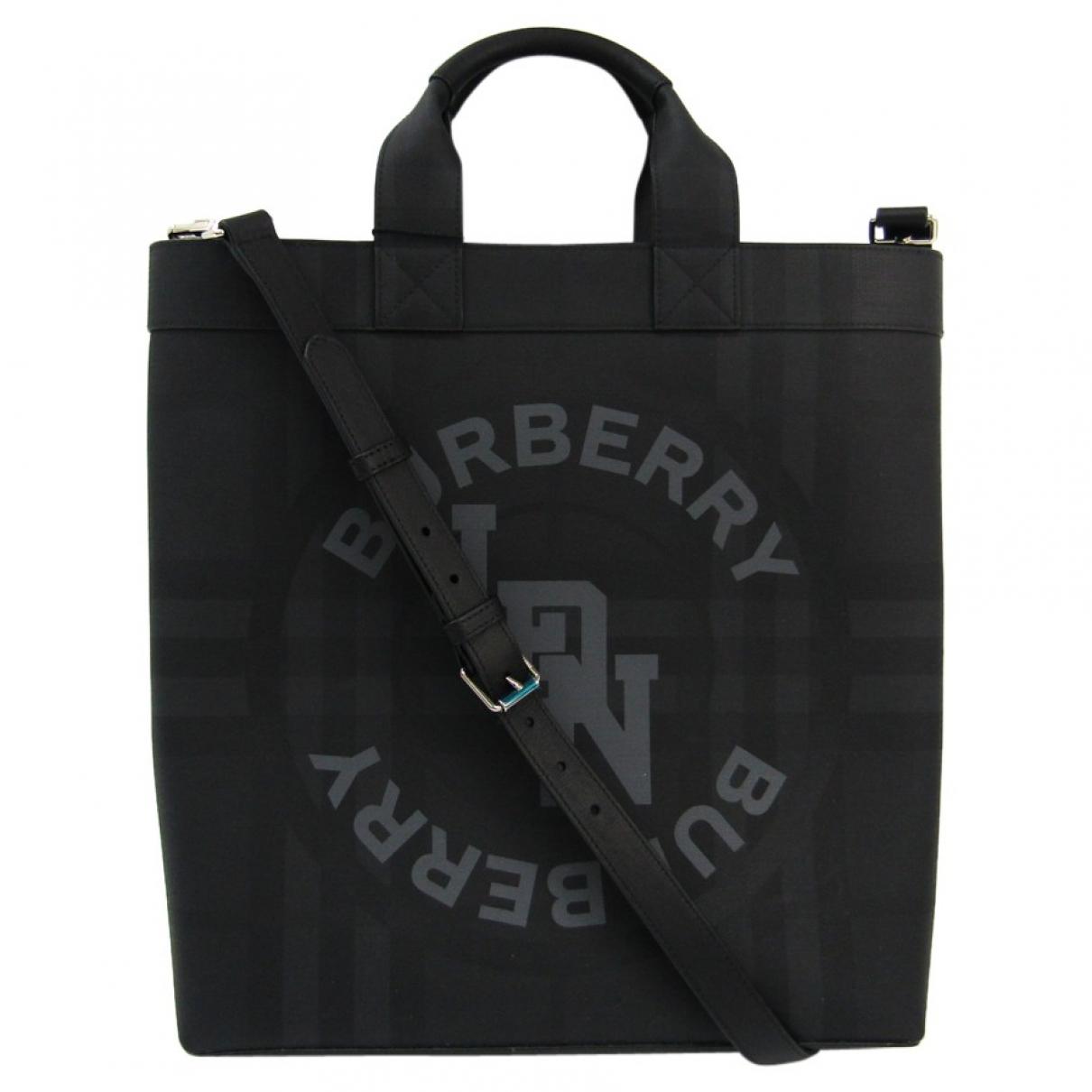 Burberry - Sac   pour homme en toile - noir
