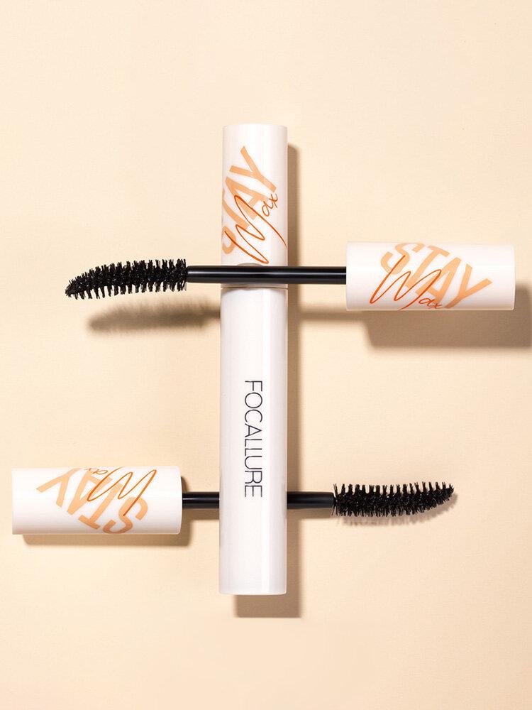 Fan-Shaped Brush Head Mascara Waterproof Lasting Sweat-ProofThick Curling Eye Makeup