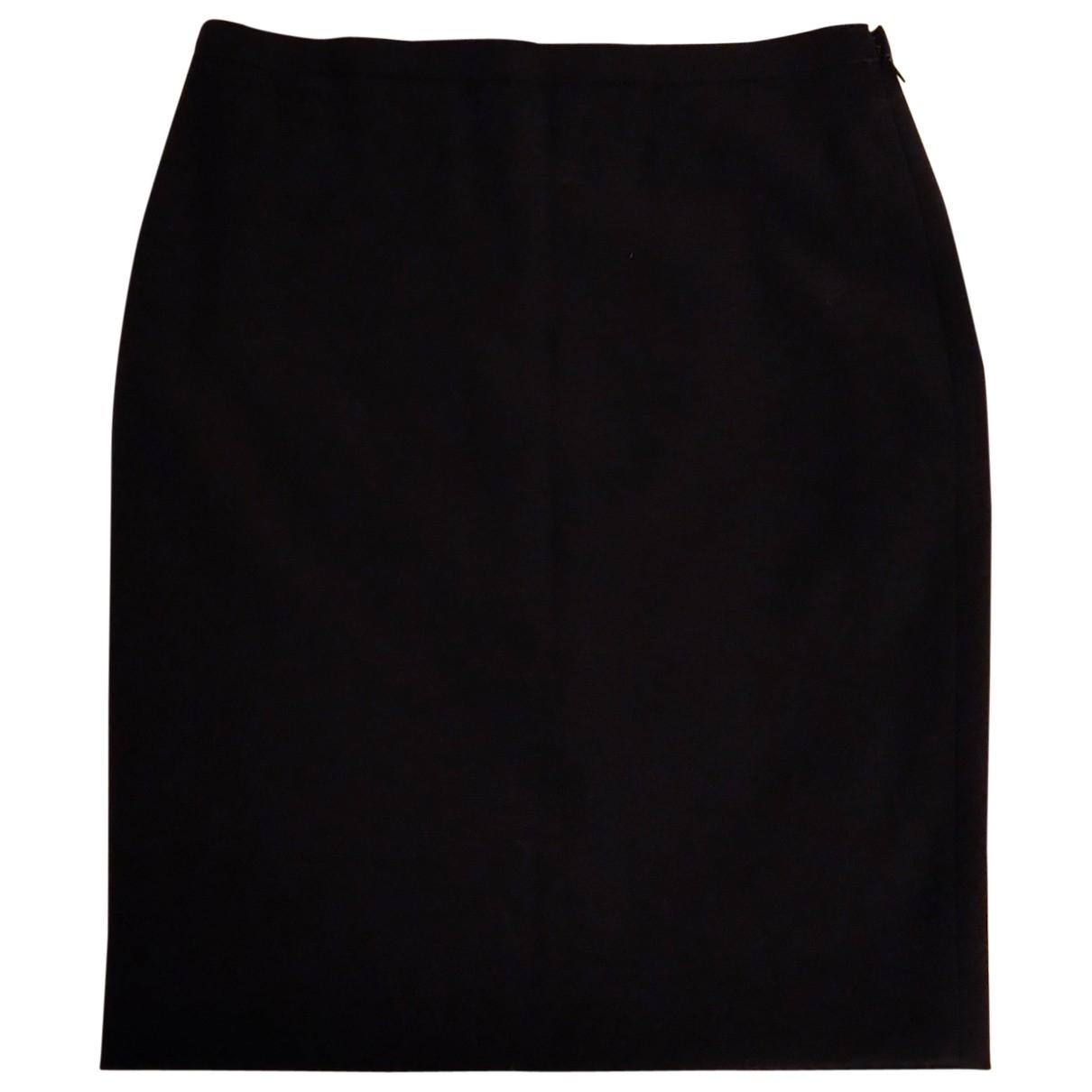 Carolina Herrera \N Navy Wool skirt for Women 8 US