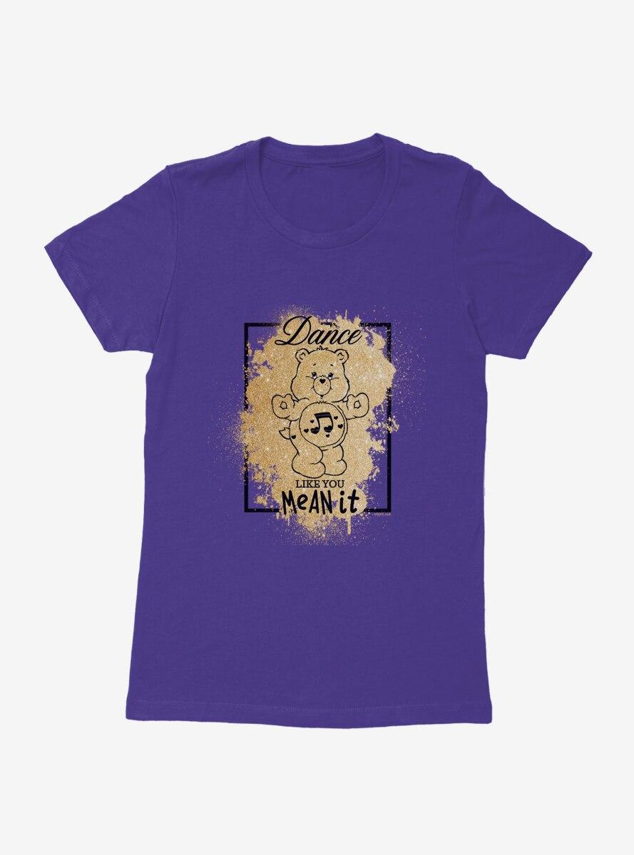 Care Bears Heartsong Bear Symbol Womens T-Shirt