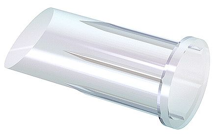 Mentor GmbH 1282.1300 MENTOR, Panel Mount LED Light Pipe, Clear Recessed Lens (5)