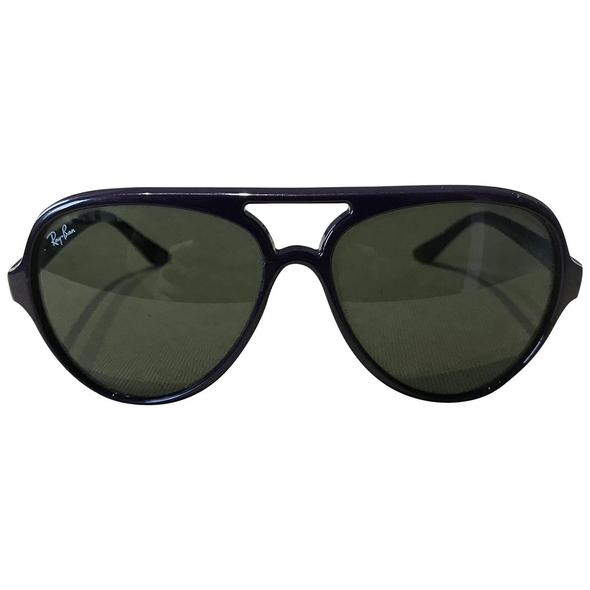 Ray-ban Aviator Sonnenbrillen in  Lila Kunststoff