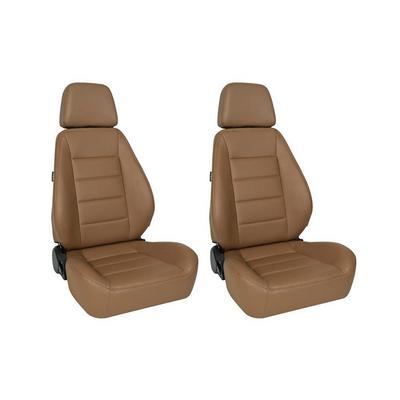 Corbeau Sport Seat - Pair (Tan Vinyl) - 90060PR